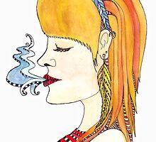 Perpetual Smoker by Garbielle Mathilda