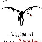 Shinigami love apples by DaveBot