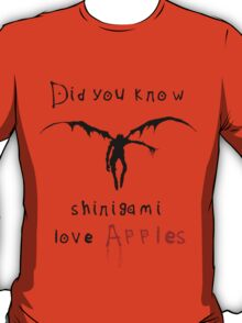 Shinigami love apples T-Shirt