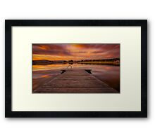 Cloud Joy Framed Print