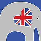 Earl Grey Elephant by Elephant Love