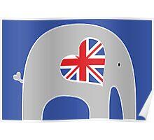 Earl Grey Elephant Poster