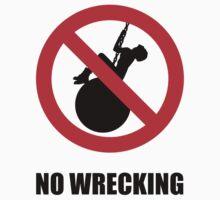 No Wrecking by Alexander Bowden