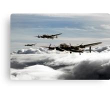 Lancaster Squadron Canvas Print
