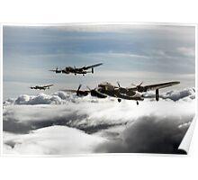 Lancaster Squadron Poster