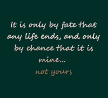 Quote of a vampire by vilver