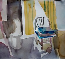 Room with chair by May Hege  Rygel