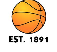 Basketball Est 1891 by kwg2200