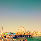 Santa Monica Pier (Edited)- California by thedovahmaster