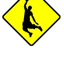 Dunking Road Sign by kwg2200