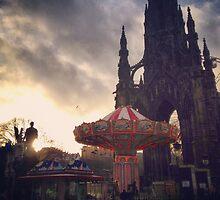 Christmas Markets Edinburgh by Dkershaw22