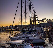 Chios port by ValantisZoumis