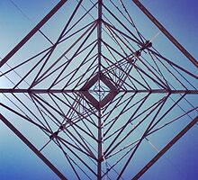 Underneath a Transmission Tower by omhafez