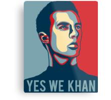Yes we Khan Metal Print