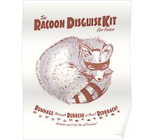 The Raccoon Disguise Kit for Foxes Poster
