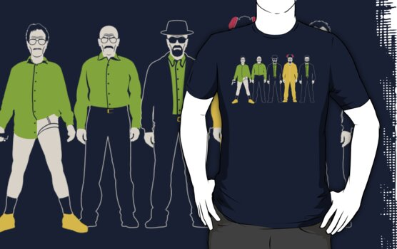 The Evolution of Walter White by Tom Trager