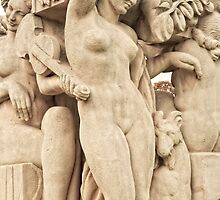 Sculptures In The Jardins Du Trocadero - 2 © by © Hany G. Jadaa © Prince John Photography