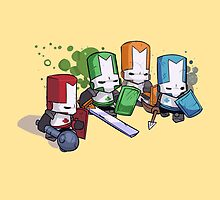 Castle Crashers Team by ILoveLamps