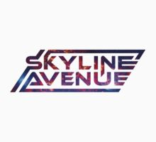 Skyline Avenue Logo T-Shirt by skylineavenue