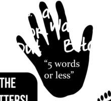 Buffy Quotefest Sticker
