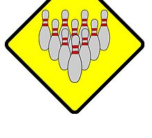 Bowling Street Sign by kwg2200