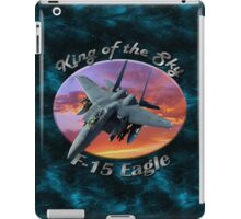 F-15 Eagle King Of The Sky iPad Case/Skin