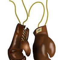 Leather Boxing Gloves by kwg2200