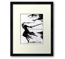 Artorias of the Abyss Framed Print