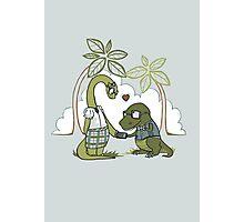 DiNERDsaur Love Photographic Print