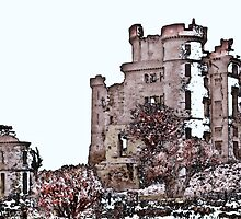 Castle Ruins of Scotland by dianegaddis
