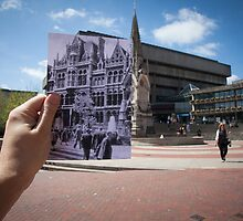Mason College, Chamberlain Square 1960 by Tim Cornbill