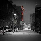 Severn Street in the Snow by Tim Cornbill