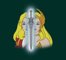 She-Ra Princess of Power - Adora/She-Ra/Sword - Color by DGArt