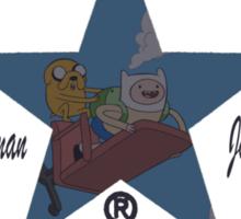 Adventure Time Converse Sticker