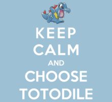 Keep Calm And Choose Totodile by Phaedrart