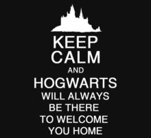 Keep Calm And Hogwarts Will Be There by Leylaaslan