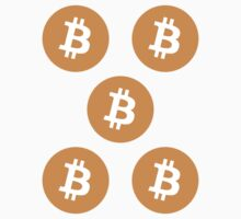 Bitcoin ×5 by krop ★ $1.49 stickers