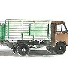 Soviet Truck  by Daniel Gallegos
