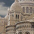 Sacre Coeur Montmartre Paris France by Buckwhite
