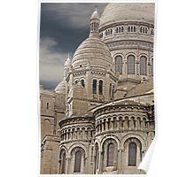 Sacre Coeur Montmartre Paris France Poster