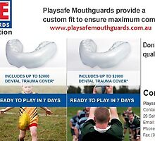 Sports Mouth Guards Queensland - Playsafemouthguards.com.au by playsafemouth