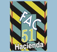 Fac 51 Hacienda Factory Records Shirt by Shaina Karasik