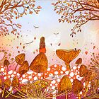 Autumn Warmth by Jo Williams  (Mog Crusoe made in Cornwall)
