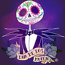 Dia de los Muertos - Nightmare Before Christmas by Lauren Draghetti