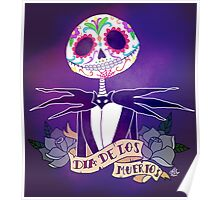 Dia de los Muertos - Nightmare Before Christmas Poster