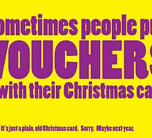 Vouchers for Christmas by Karl Smyth