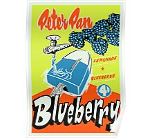 Peter Pan Blueberry Novelty Poster