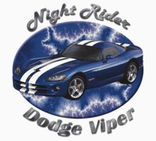 Dodge Viper Night Rider by hotcarshirts