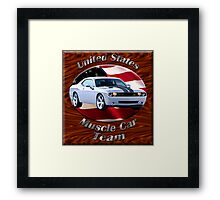 Dodge Challenger SRT8 Muscle Car Team Framed Print