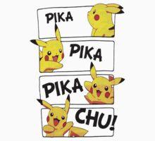 PIKA PIKA PIKA CHU by Phaedrart